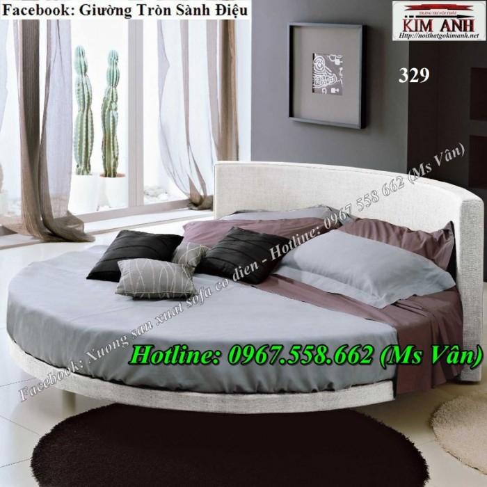 Xưởng sản xuất giường tròn giá rẻ cho khách sạn Tân Phú Bình Tân1