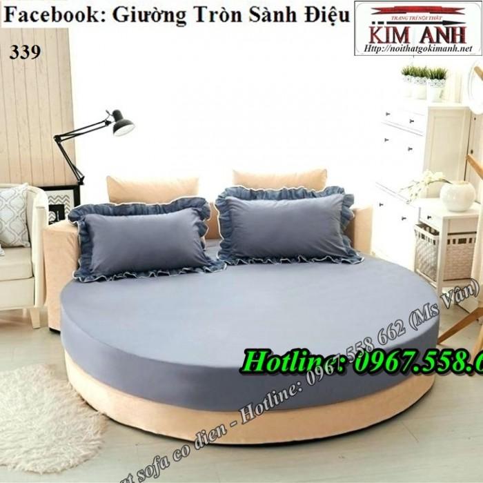 giường ngủ hình tròn giá rẻ7