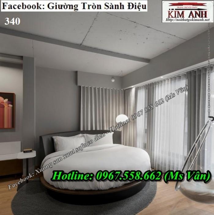 mẫu giường tròn đẹp cho khách sạn Đà Lạt Nha Trang6
