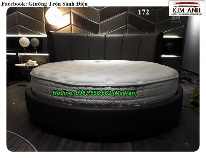 xưởng sản xuất giường tròn giá rẻ cho nhà nghỉ khách sạn11