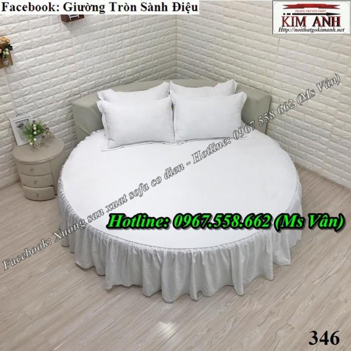 những mẫu giường tròn đẹp nhất hiện nay T15