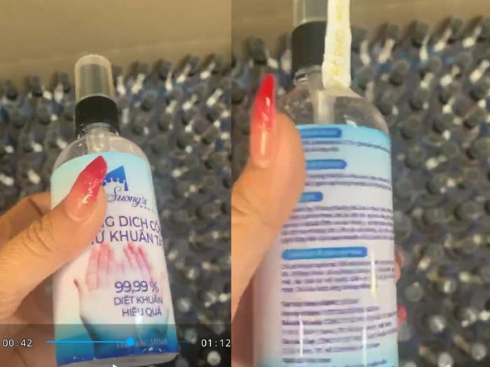 Nước rửa tay khô - Gel rửa tay khô diệt khuẩn 24h Suong's House