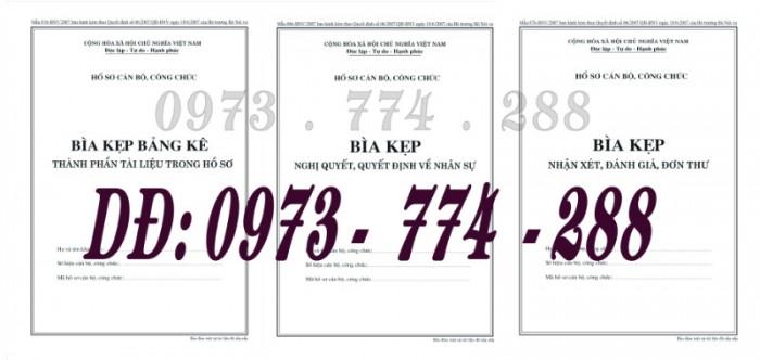 3 Bìa kẹp hồ sơ viên chức mẫu mới nhất5