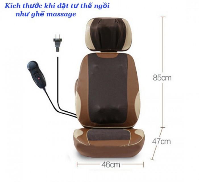 Ghế massage toàn thân ayosun 5d AYS 888A8, ghế mát xa theo huyệt đạo1