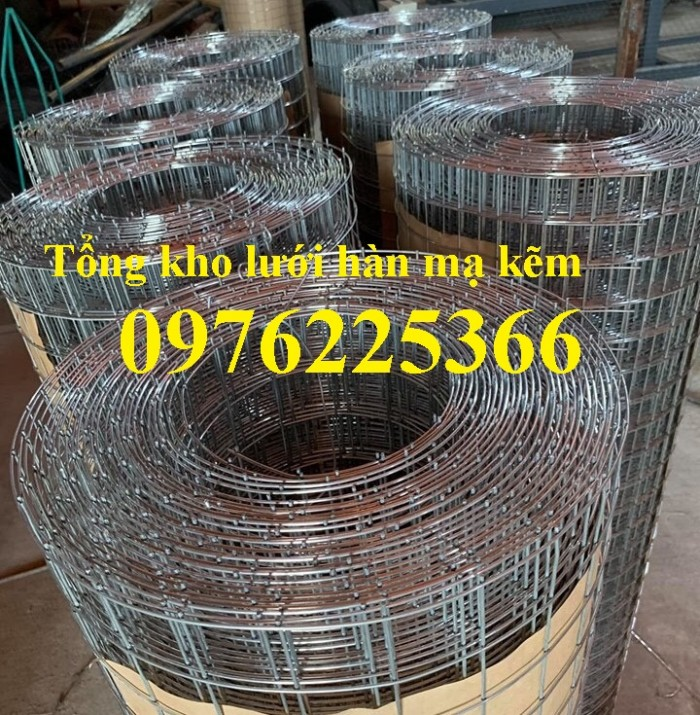 Chuyên sản xuất lưới thép hàn mạ kẽm 2ly, 3ly, 4ly, 5ly 6ly3