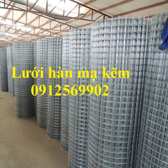 Chuyên sản xuất lưới thép hàn mạ kẽm 2ly, 3ly, 4ly, 5ly 6ly4