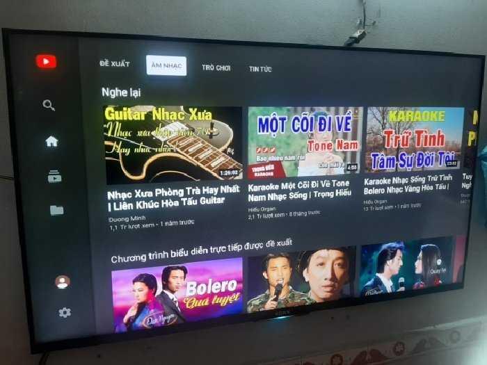 Bán TV Smart SONY 50W800C giọng nói1
