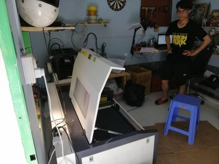 Nâng cấp máy laser 6040  từ 60W lên 80w
