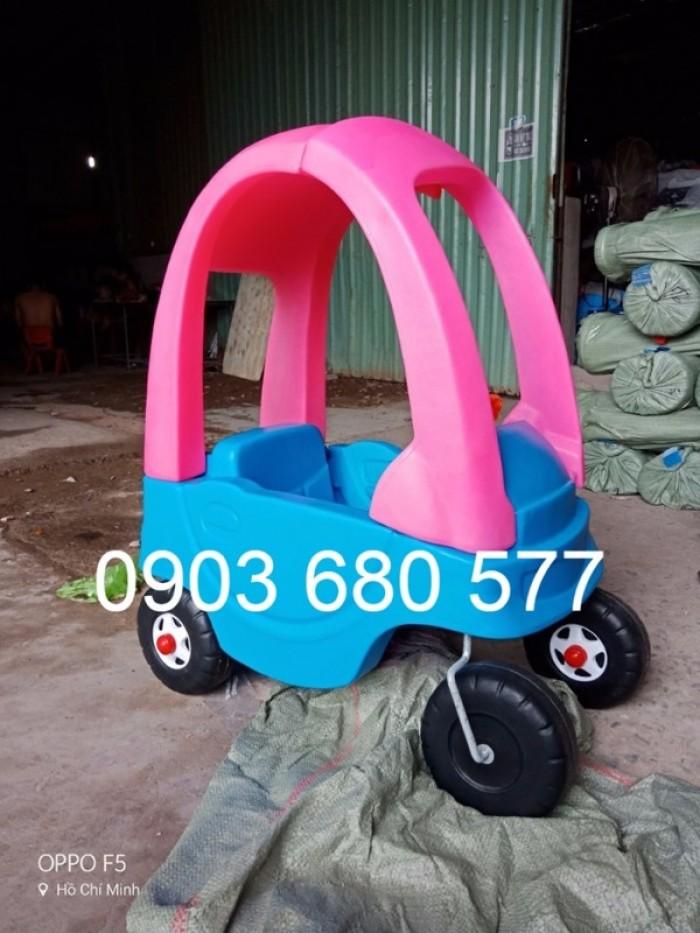 Nơi cung cấp xe chòi chân 4 bánh có mái vòm vận động cho bé
