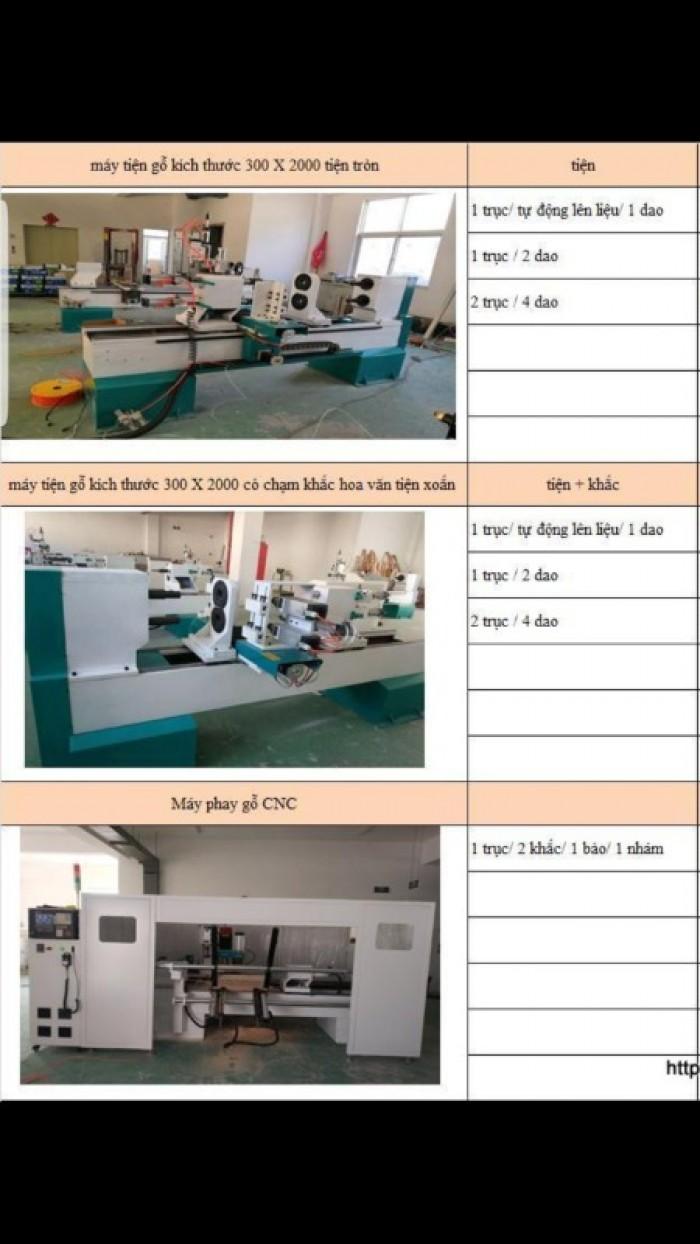 Máy tiện gỗ CNC 3D / máy tiện gỗ đưa phôi tự động giá rẻ9