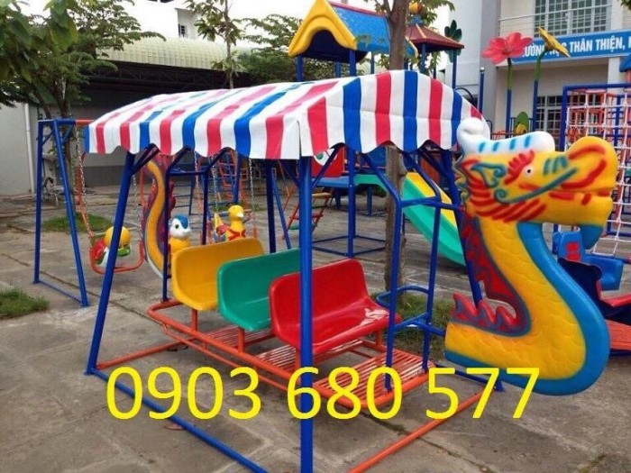 Chuyên bán xích đu trẻ em cho trường lớp mầm non, công viên, khu vui chơi12