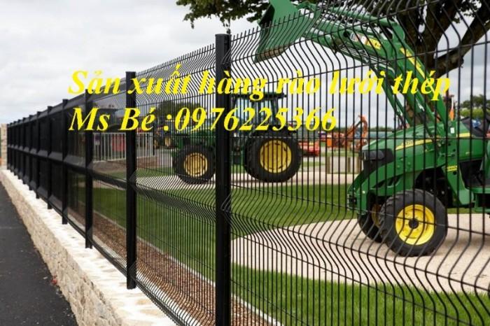 Hàng rào mạ kẽm, hàng rào gập đầu13