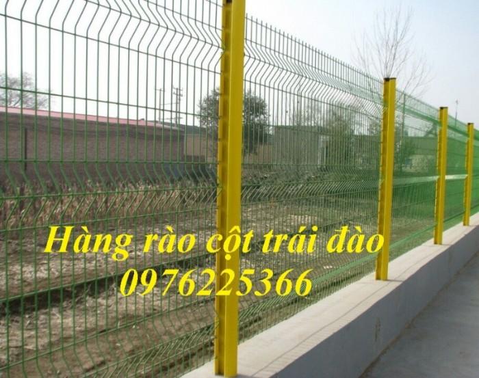Hàng rào mạ kẽm, hàng rào gập đầu14