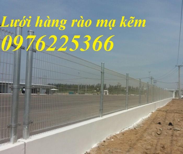 Hàng rào mạ kẽm, hàng rào gập đầu16