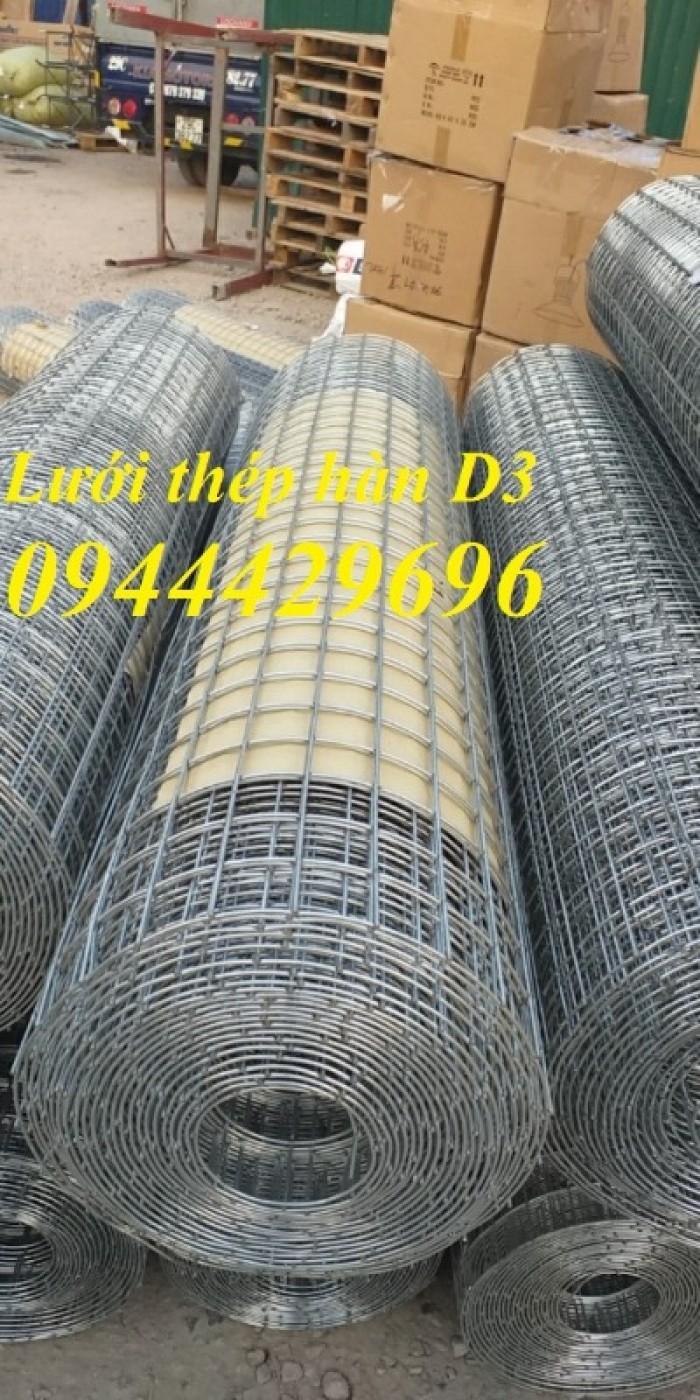 Lưới thép hàn D3 a 50x50  khổ 1.2m7