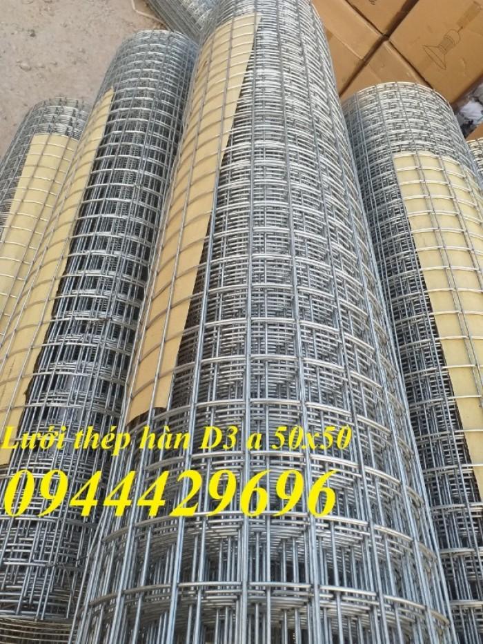 Lưới thép hàn D3 a 50x50  khổ 1.2m5