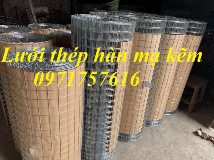 Lưới hàn mạ kẽm, sản xuất lưới thép hàn mạ kẽm tại Hà Nội3