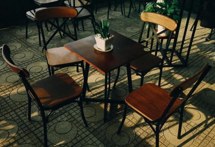 Ghế sắt cà phê đẹp giá rẻ