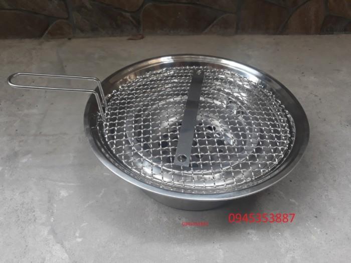 Bếp nướng than hoa âm bàn giá rẻ chất liệu inox cao cấp cho quán lẩu nướng than hoa2