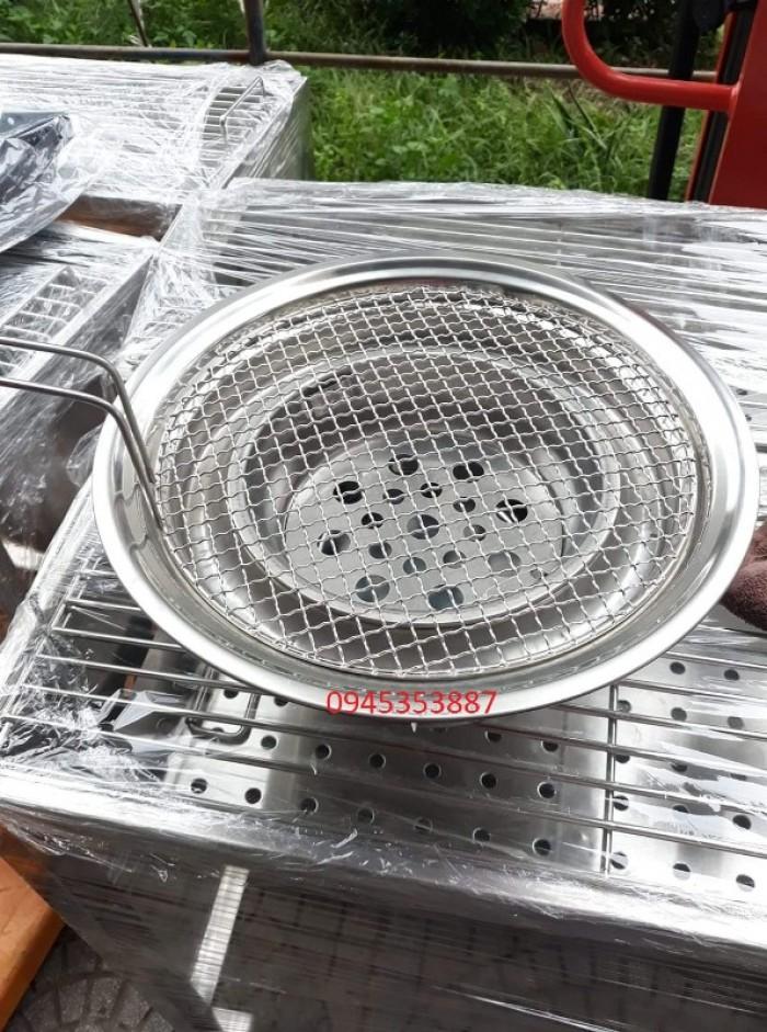 Bếp nướng than hoa âm bàn giá rẻ chất liệu inox cao cấp cho quán lẩu nướng than hoa4