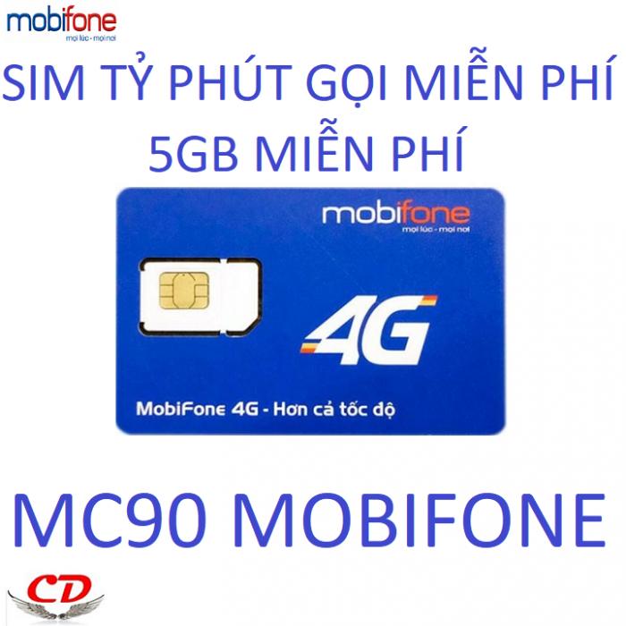 Sim 4g mobifone gọi miễn phí dưới 10 phút 5gb tốc độ cao0