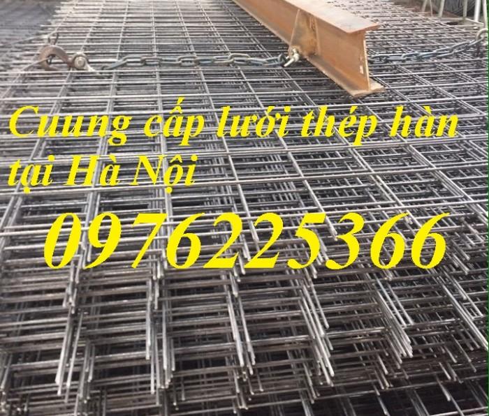 Lưới thép hàn ô vuông, lưới hàn đổ sàn bê tông1