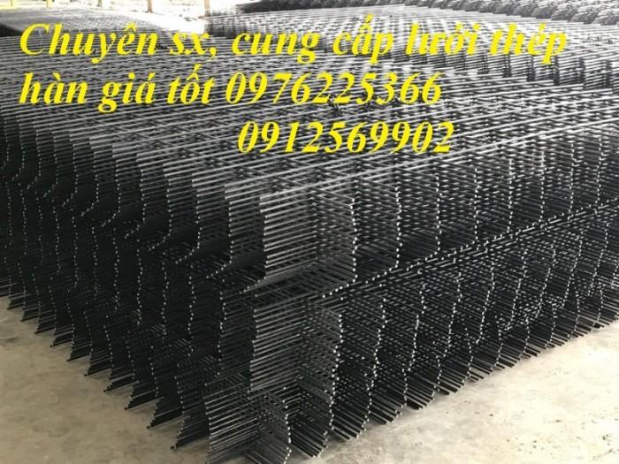 Lưới thép hàn ô vuông, lưới hàn đổ sàn bê tông3