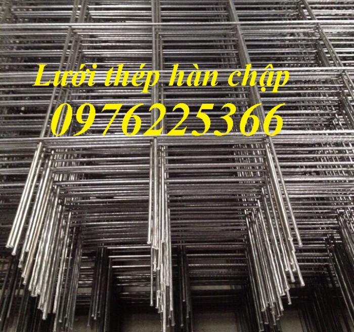 Lưới thép hàn ô vuông, lưới hàn đổ sàn bê tông4