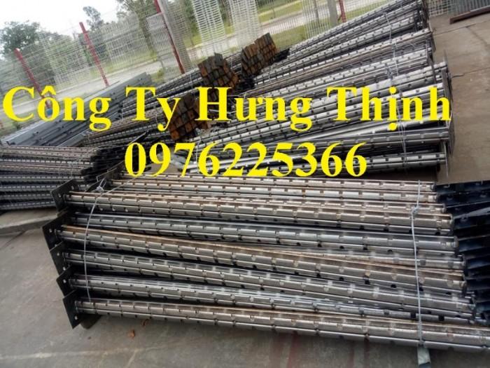 Hàng rào cột trái đào D5a50x150, D5a50x200 sơn tĩnh điện4
