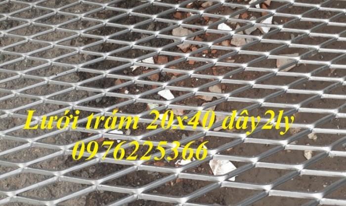 Lưới thép dập giãn, lưới thép hình thoi, lưới thép quả trám, lưới mắt cáo