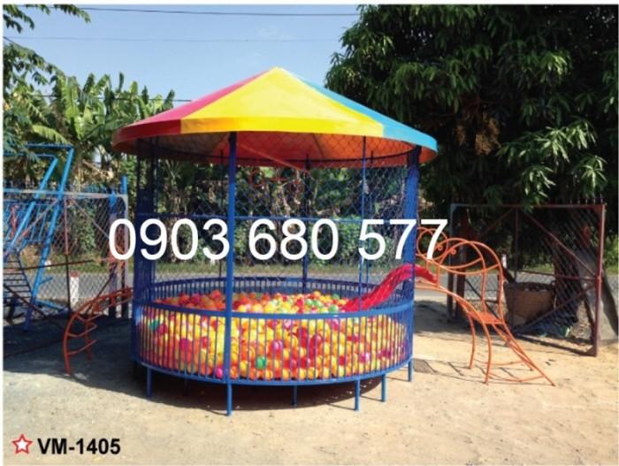 Chuyên cung cấp nhà banh trong nhà và ngoài trời cho trường mầm non, công viên, sân chơi trẻ em14