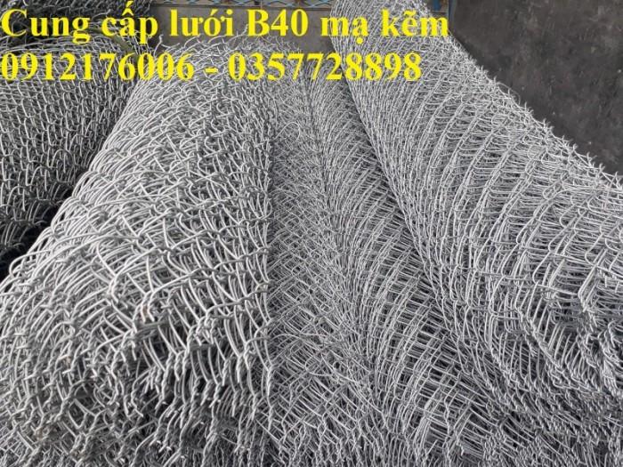 Giá Lưới thép B40 mạ kẽm khổ 1m, 1.2m,1.5m,1.8m4