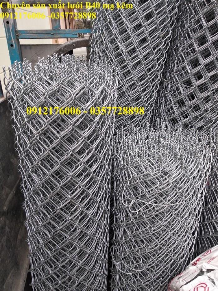 Giá Lưới thép B40 mạ kẽm khổ 1m, 1.2m,1.5m,1.8m7