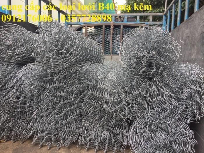 Lưới thép B40 mạ kẽm khổ 1m, 1.2m,1.5m,1.8m3
