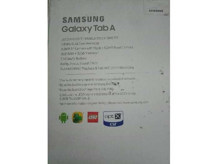 Máy tính bảng Samsung Galaxy Tab A 10,54