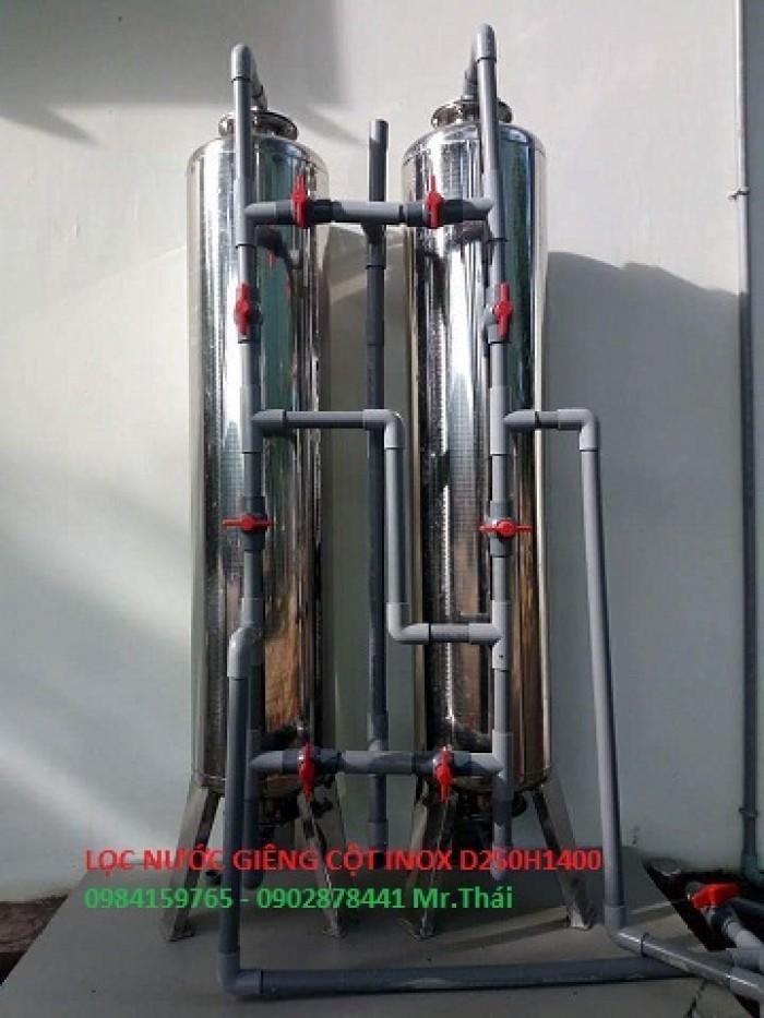 Bộ lọc nước bình lọc inox 3042