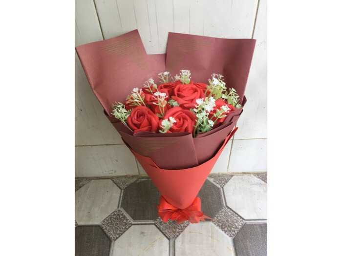 Hoa hồng sáp0