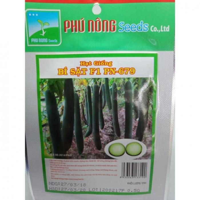 Hạt giống bí đao xanh (bí sặt) Phú Nông0