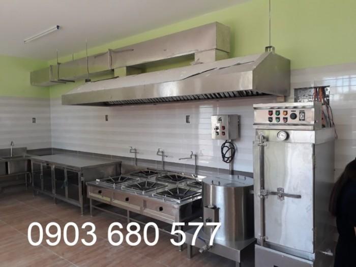 Chuyên nhận thiết kế và thi công thiết bị nhà bếp ăn cho trường mầm non