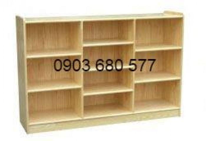 Chuyên cung cấp kệ gỗ trẻ em cho trường mầm non, lớp mẫu giáo, gia đình