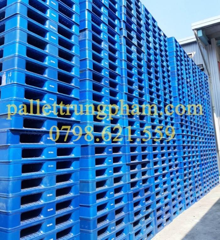 Pallet nhựa mới cho xuất khẩu và lưu kho1