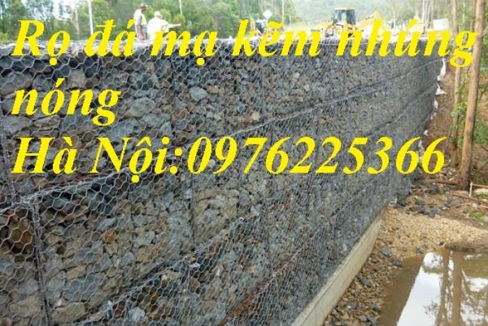 Rọ đá mạ kẽm 2x1x0,5m, 2x1x1m11