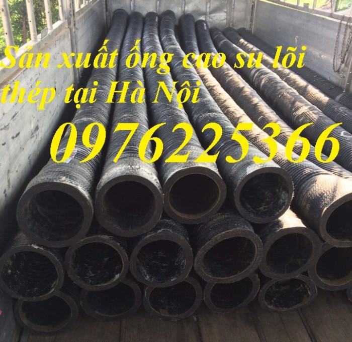 Ống cao su lõi thép hút nước, hút cát D60. D75,D90, D100,.D150, D200, D250, D3004