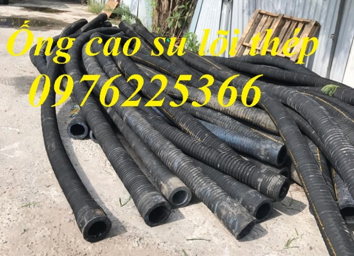 Ống cao su lõi thép hút nước, hút cát D60. D75,D90, D100,.D150, D200, D250, D3006