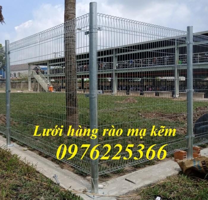 Hàng rào lưới thép hàn,hàng rào mạ kẽm5