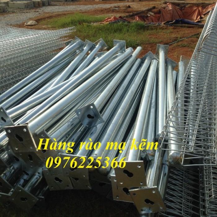 Hàng rào lưới thép hàn,hàng rào mạ kẽm7