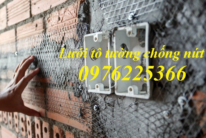 Lưới tô tường ,lưới trát tường chống nứt tại hà nội3