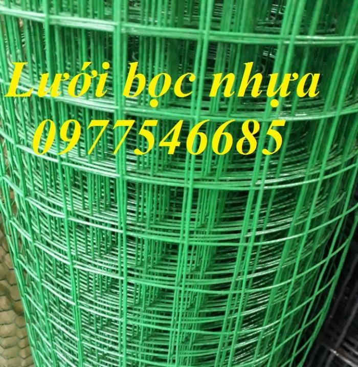 Lưới ô vuông bọc nhựa ,lưới bọc nhựa ,lưới sắt bọc nhựa