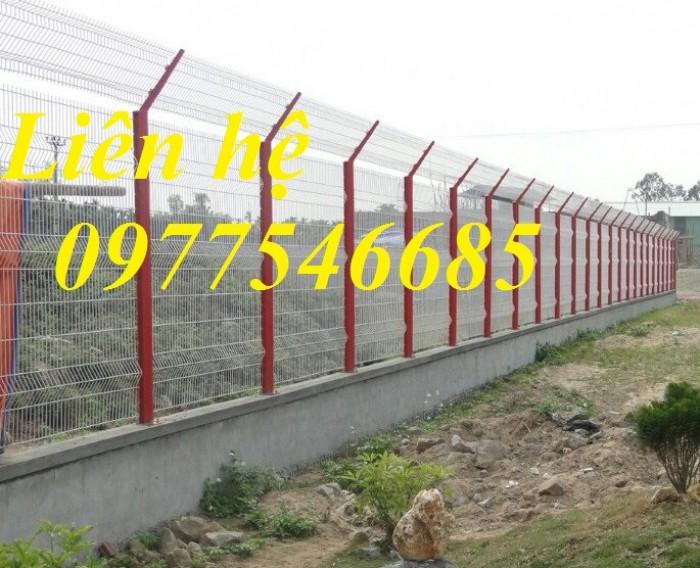 Sản xuất hàng rào lưới thép mạ kẽm.Hàng rào lưới thép sơn tĩnh điện4