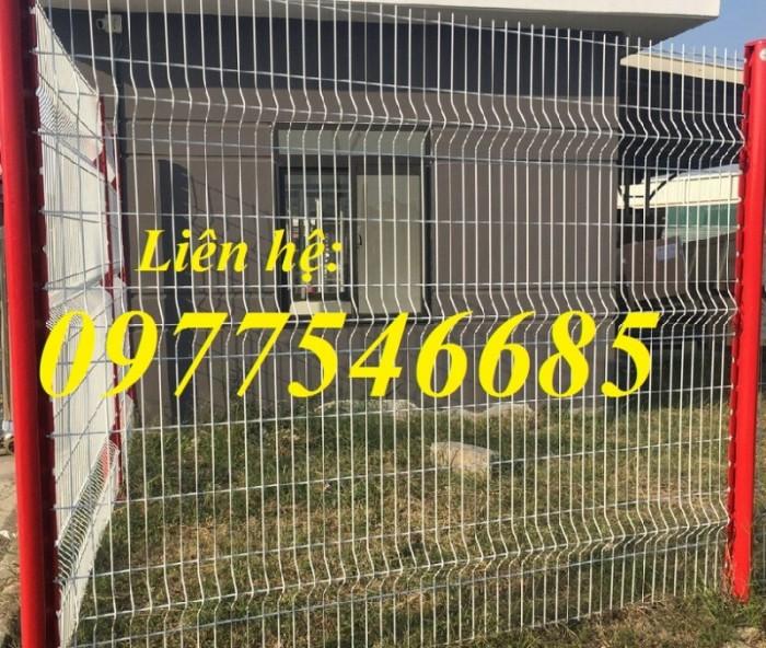 Sản xuất hàng rào lưới thép mạ kẽm.Hàng rào lưới thép sơn tĩnh điện5
